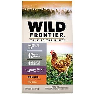 Nutro Wild Frontier Senior Open Valley Recipe – High Protein and Grain-Free