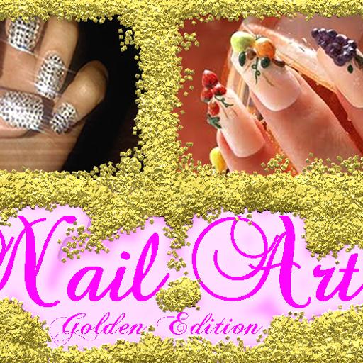 Nail Art Golden Edition