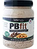 BetterBody Foods PB Fit Powder, Chocolate Peanut Butter, 30 Ounce