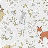 Sweet Jojo Designs Woodland Animal Toile Fabric Memory/Memo Photo Bulletin Board