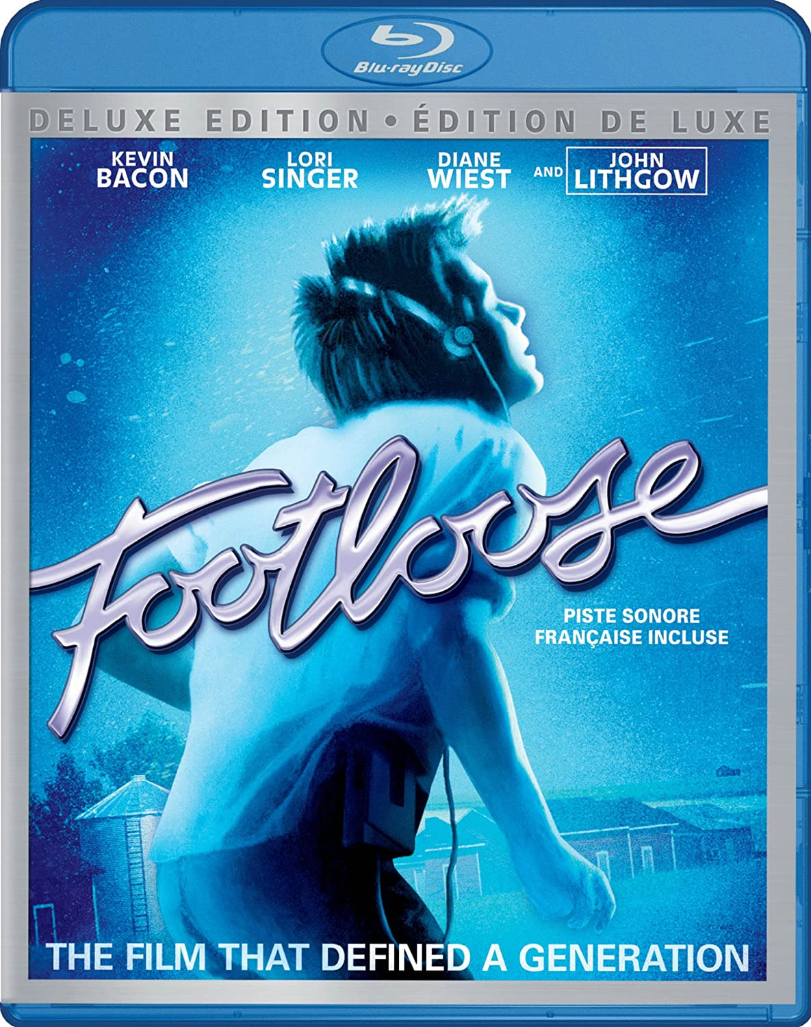 Footloose [Blu-ray] (Bilingual) Kevin Bacon Lori Singer John Lithgow Dianne Wiest