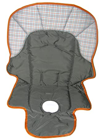 Graco Meal Time High Chair Replacement Seat Pad Cover Cushion (Charcoal)