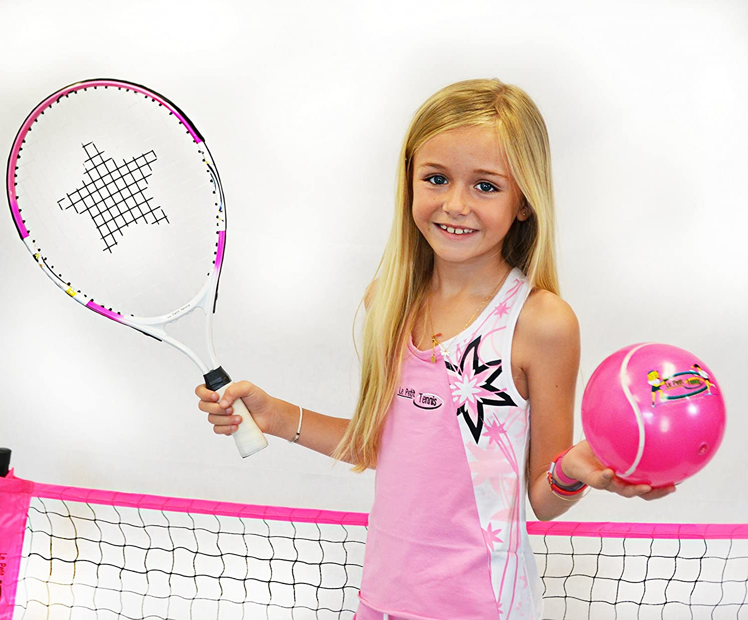 6 Inflatable Tennis Ball Pump My First Tennis Ball Le Petit Tennis Pack of 2 Balls for Ages 2-3-4-5-6