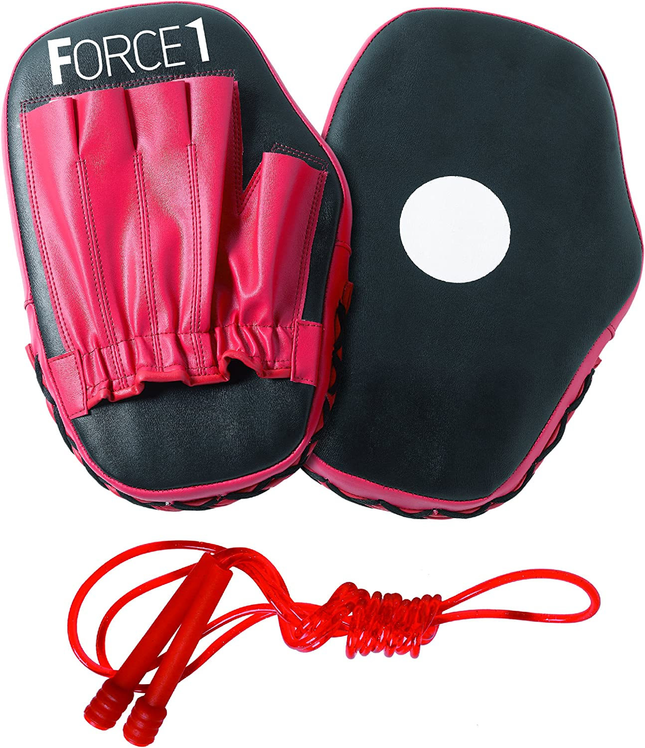 Black Force1 Focus Pads and Skipping Rope