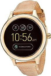 Fossil FTW6005 Gen 3 Q Venture Smartwatch, Sand Leather
