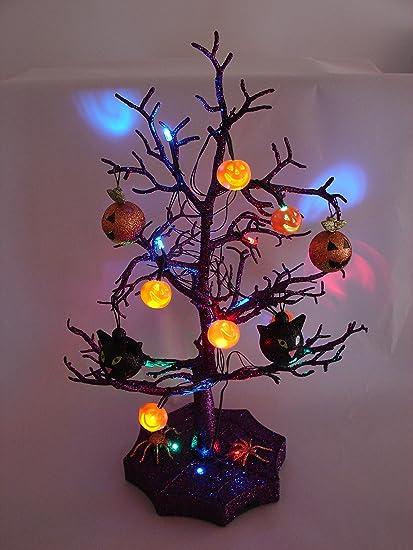 amazon com halloween decorations spooky led lighted halloween