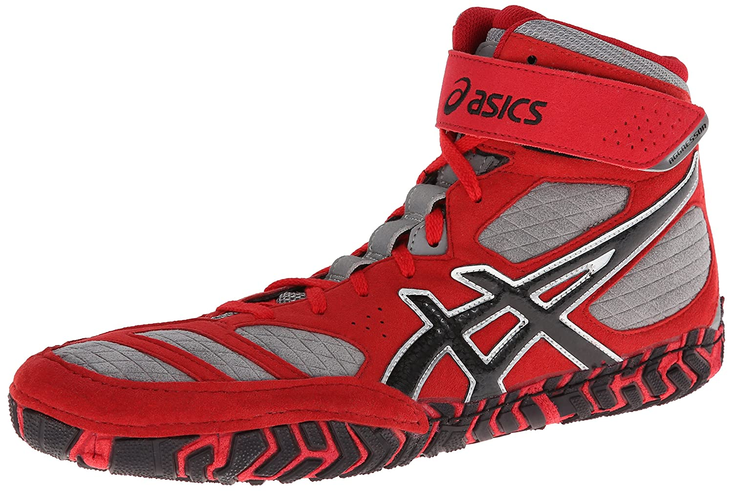 ASICS Men's Aggressor 2 Wrestling Shoe B00GY6M11A 8 D(M) US|Fire Red/Black/Graphite