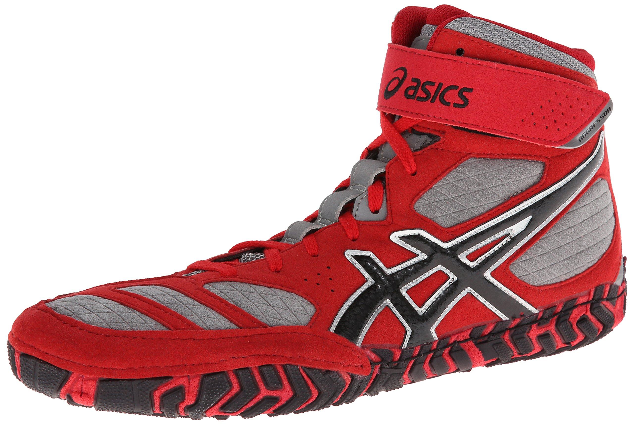 5edec2d1a16a Galleon - Asics Men s Aggressor 2 Wrestling Shoe