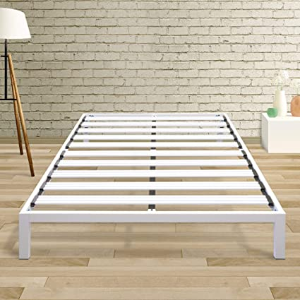 f9d23b2e772 Image Unavailable. Image not available for. Color  Best Price Mattress  Queen Bed Frame - 14 Inch Metal Platform Beds  Model ...