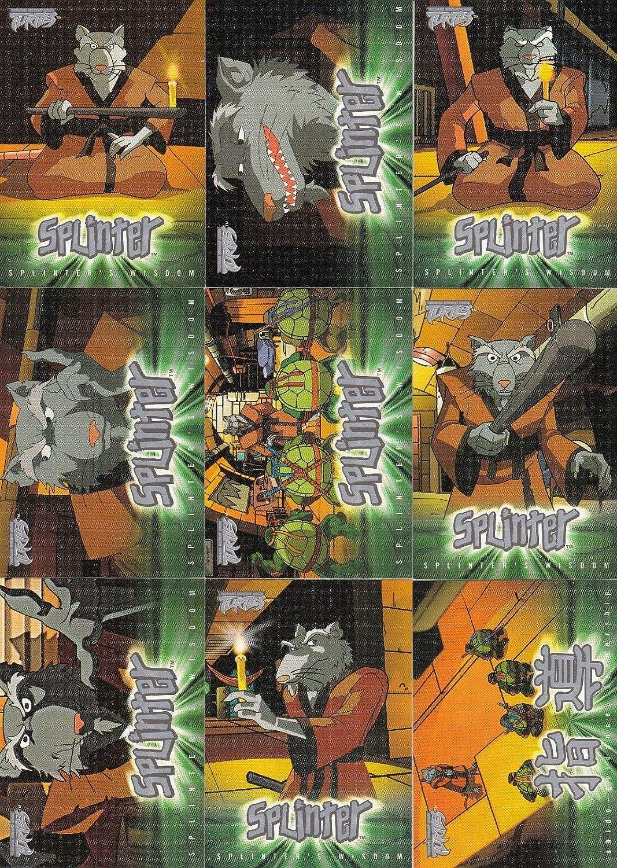 TEENAGE MUTANT NINJA TURTLES 1 2003 FLEER PARTIAL BASE CARD ...