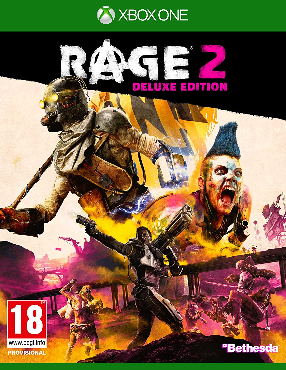 Rage 2 Deluxe Edition - Xbox One: Amazon.es: Videojuegos