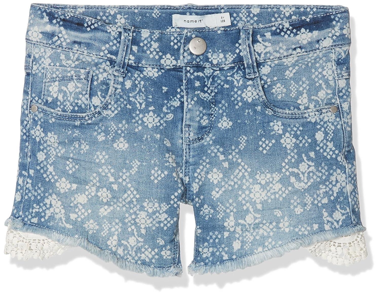 NAME IT Nkfida Shorts Noos Pantalones Cortos para Ni/ñas