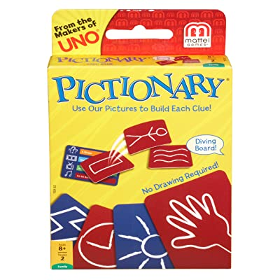 Mattel Games Pictionary Card Game: Toys & Games