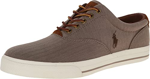 polo ralph lauren vaughn leather sneakers
