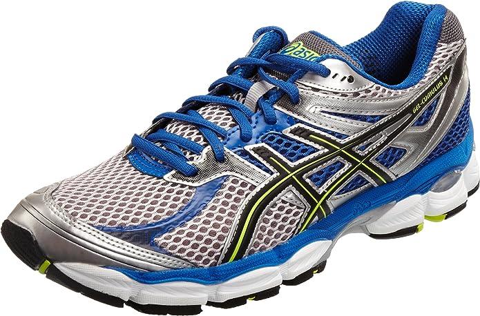 Asics Gel Cumulus 14 M, Zapatillas para Hombre, Platinum Black Neon Yellow, 41.5 EU: ASICS: Amazon.es: Zapatos y complementos