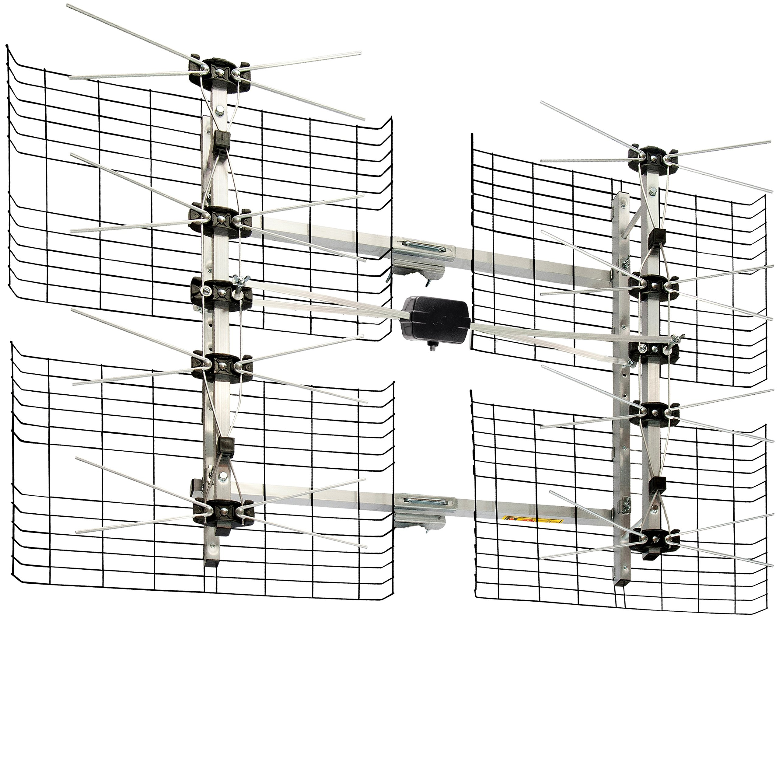 Best Rated In Tv Antennas Helpful Customer Reviews Gfci Wiring Diagram On How To Replace A Razor Only Receptacle With High Gain Bowtie Indoor Outdoor Hdtv Antenna 60 Mile Range Product Image