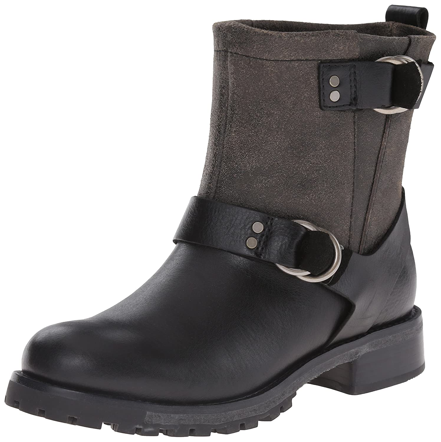 Woolrich Women's Baltimore Harness Boot B00SA687QK 10 B(M) US|Black Crackle Leather