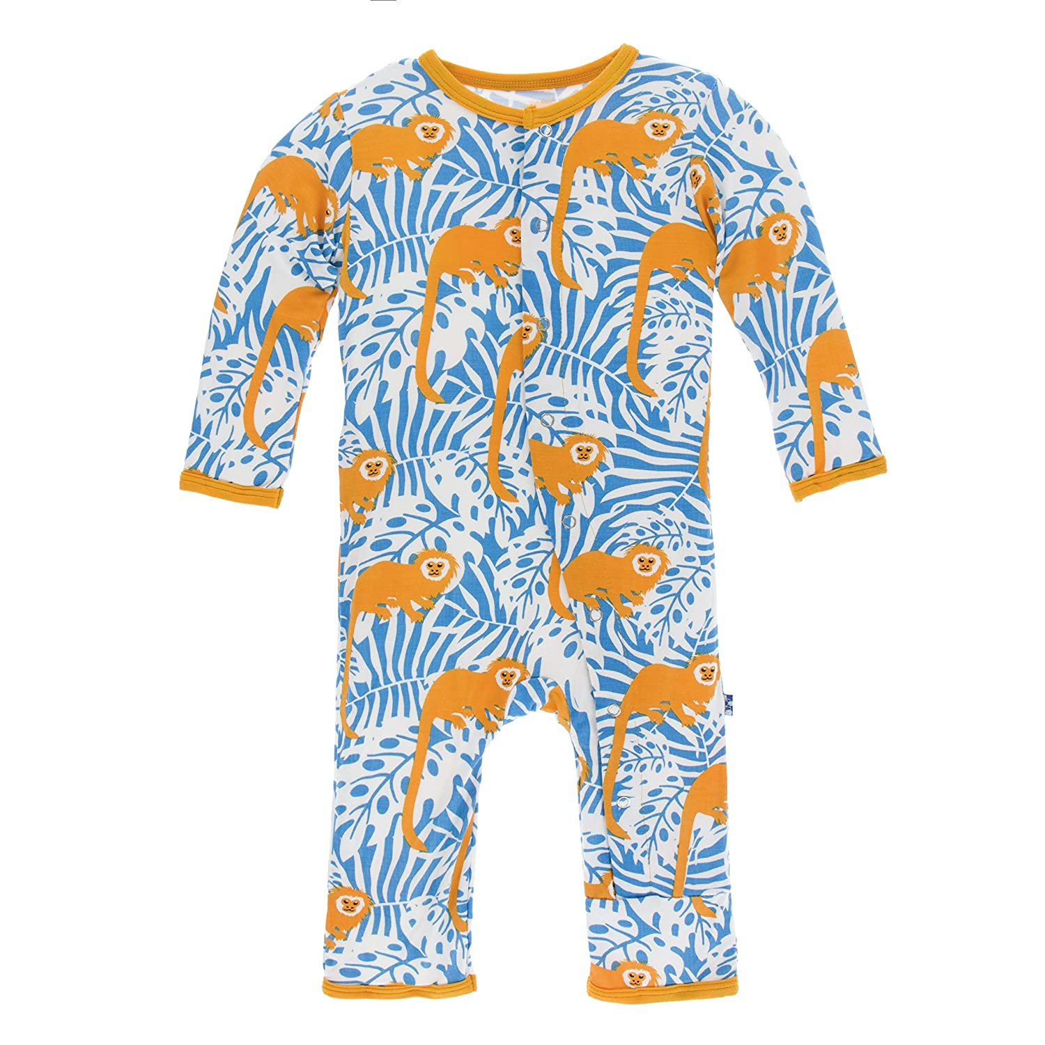 Amazon KicKee Pants Baby boys Print Coverall Infant And