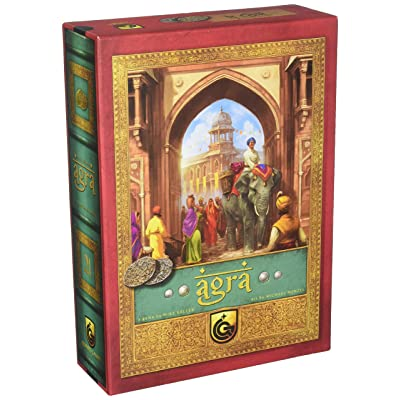 Capstone Games Agra Board Game: Toys & Games