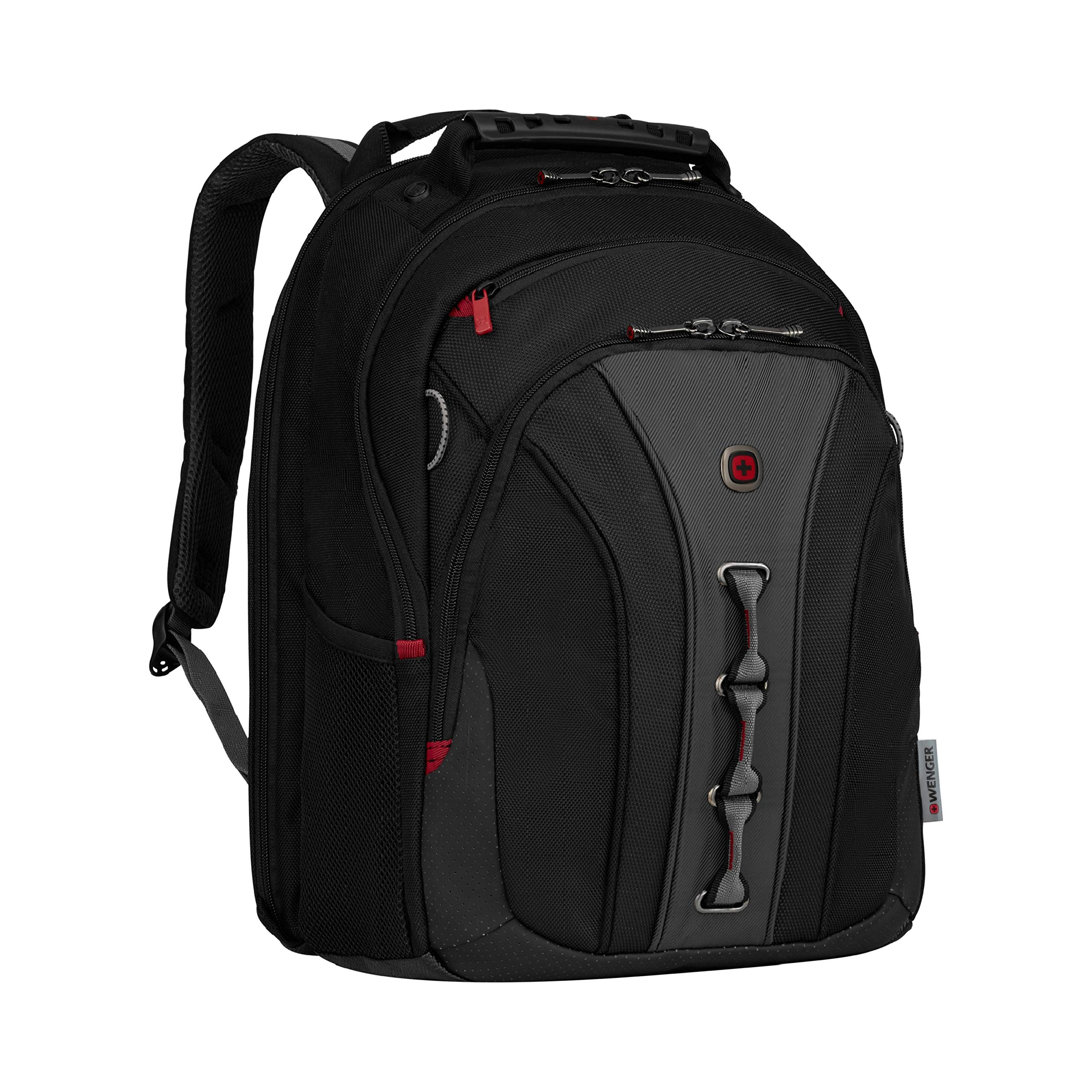 Wenger 600631 The Legacy Notebook Carrying Backpack, 16'', Black/Gray (WA-7329-14F00) by Wenger