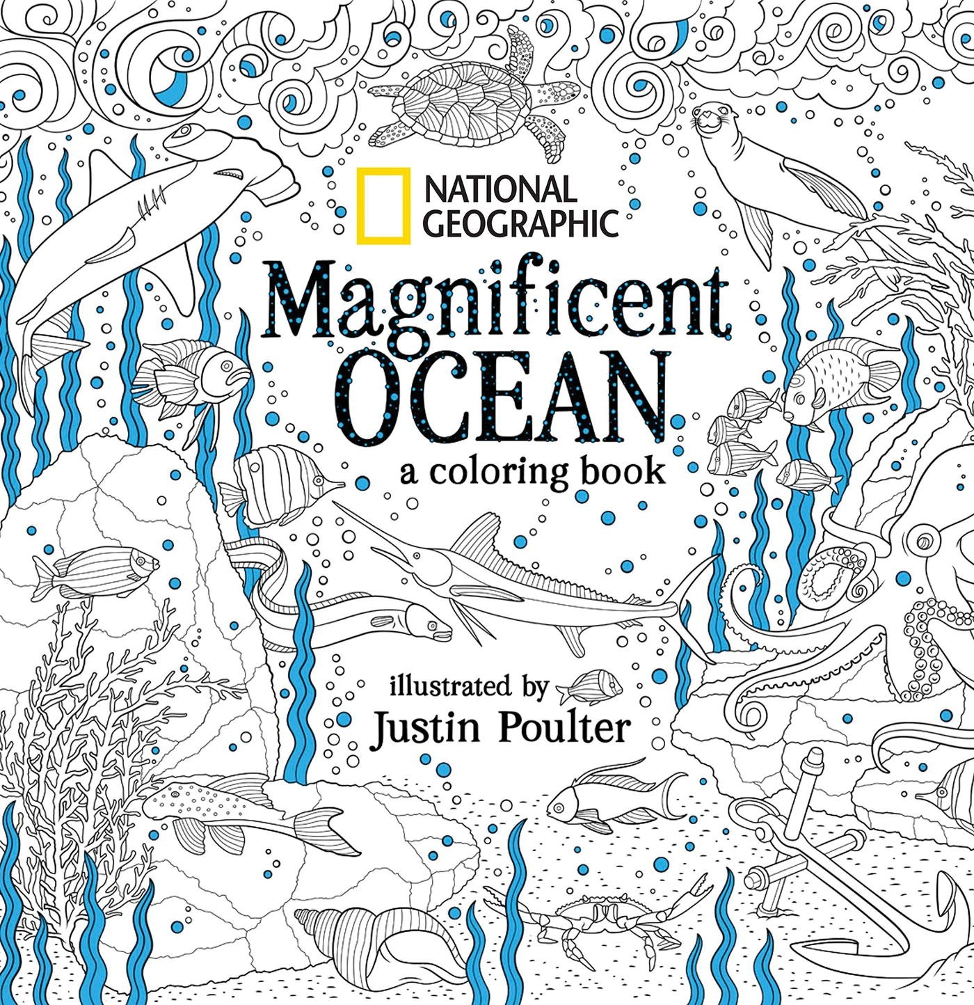 National Geographic Magnificent Ocean Coloring product image