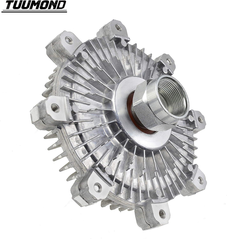 TUUMOND Premium Engine Cooling Fan Clutch Fit for 2001-2004 Ford Ranger 2001-2009 Mazda B2300 2.3L 2681