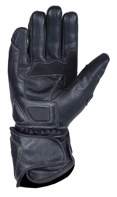 Unbekannt mbsmoto mbg25/Sport Rider Motorrad Touring Schutz Leder Lange Handschuhe