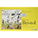 Strathmore 346-1 300 Series Sequential Art Bristol, Smooth, 24 Sheets