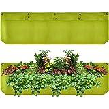Large 1 Pocket Vertical Garden Planter – Living Wall Planter – Vertical Planters – For Outdoor & Indoor Herb, Vegetable, & Flower Gardens