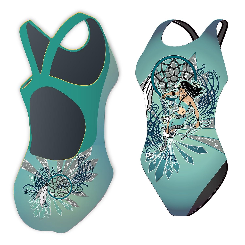 Diapolo Indian Girl Badeanzug History Kollektion für Schwimmen Synchronschwimmen Wasserball Triathlon