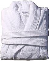 White Otterman Bathrobe 100% Turkish Cotton 500 GSM Heavy Weight