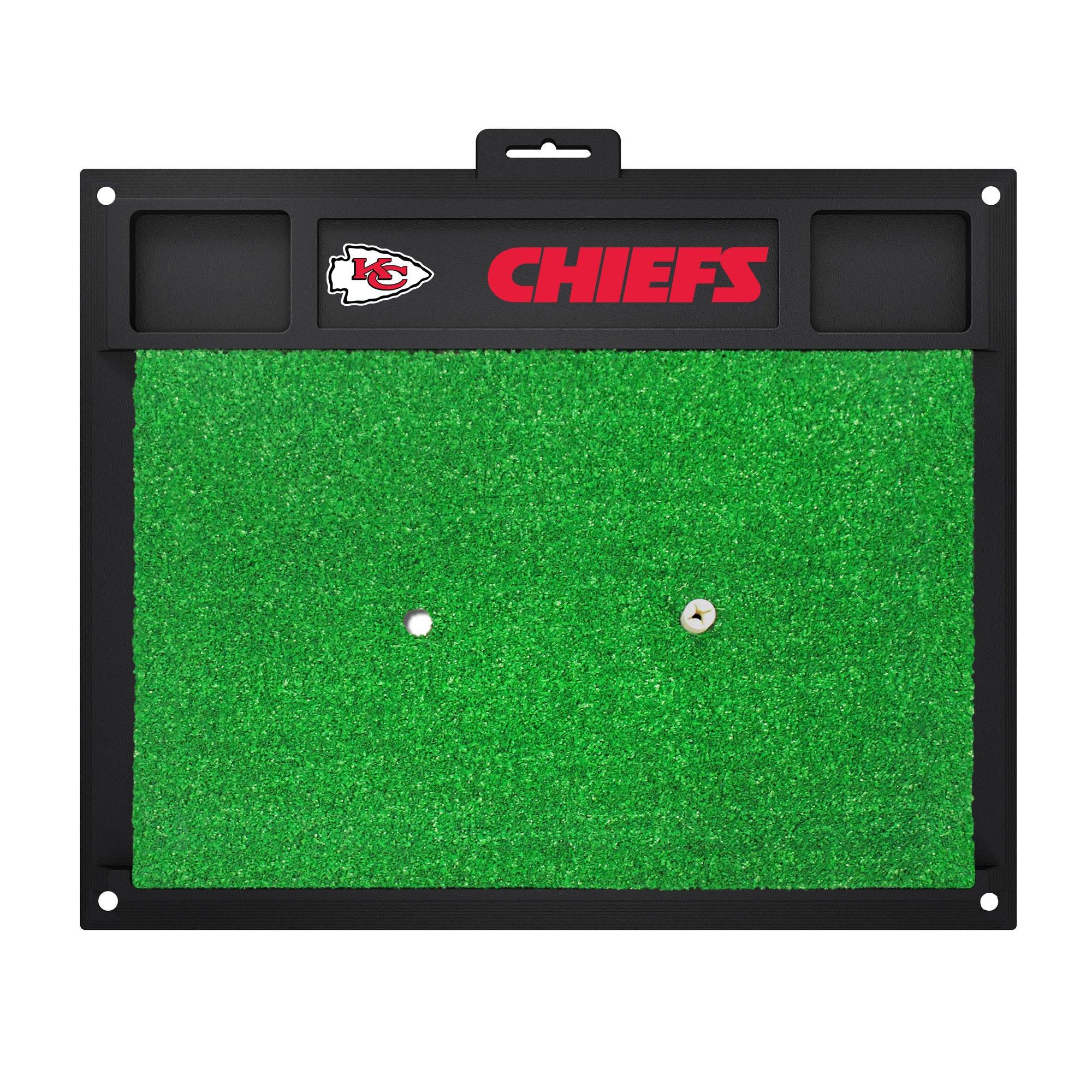 Fanmats 15464 Kansas City Chiefs Golf Hitting Mat
