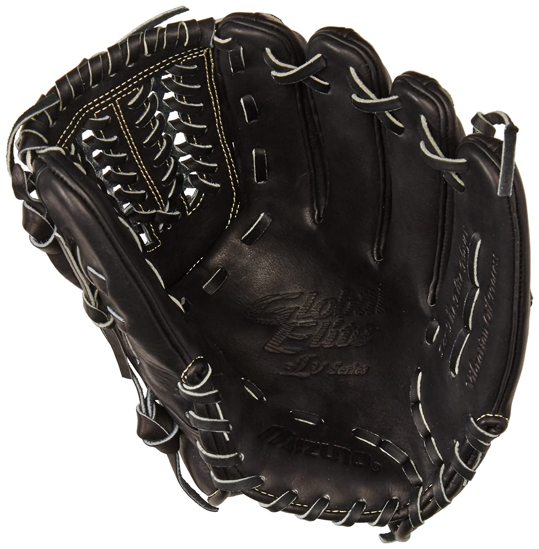 de2c90d2bd0f Amazon.com : Mizuno GGE51VBK Global Elite VOP Right Handed Throw Baseball  Fielders Mitt, Black, 11.75-Inch : Sports & Outdoors