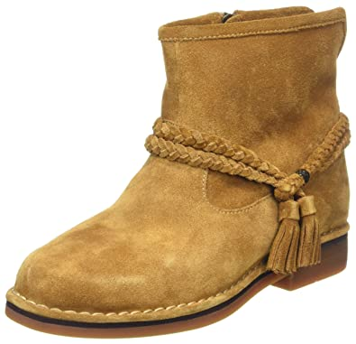 Baubie Felise, Bottes Motardes Femme, Marron (Camel), 36 EUHush Puppies