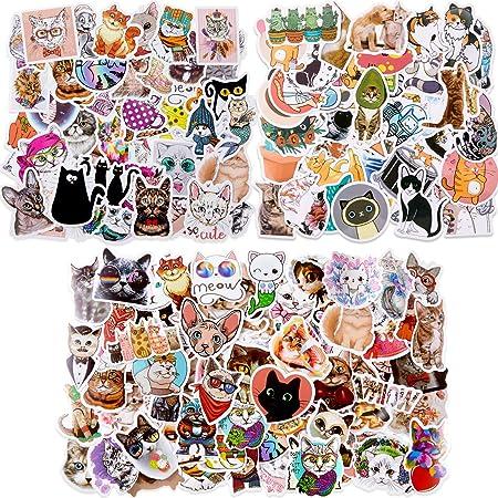 Cute Cat Vinyl Stickers