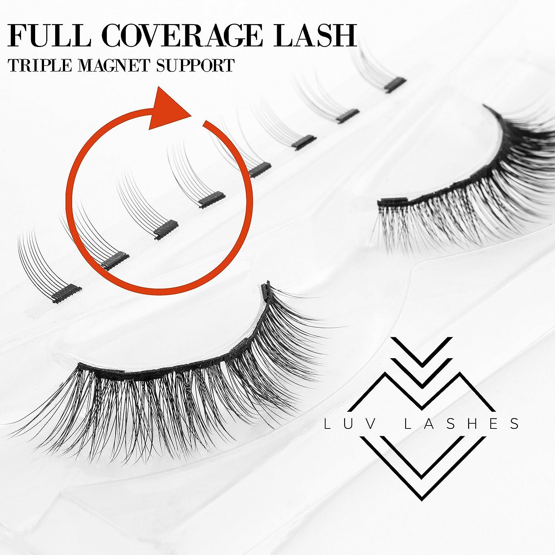 0d1548f5ba9 Amazon.com: MAGNETIC EYELASHES | Magnetic Lashes | Magnetic False Eyelashes  | similar Ardell Magnetic Eyelashes | Ebook from Luvlashes storefront