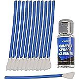 VSGO Kamera APS-C Sensor Reinigungs Kit für 6 bis 12 Reinigungen, 12x Swab 16...