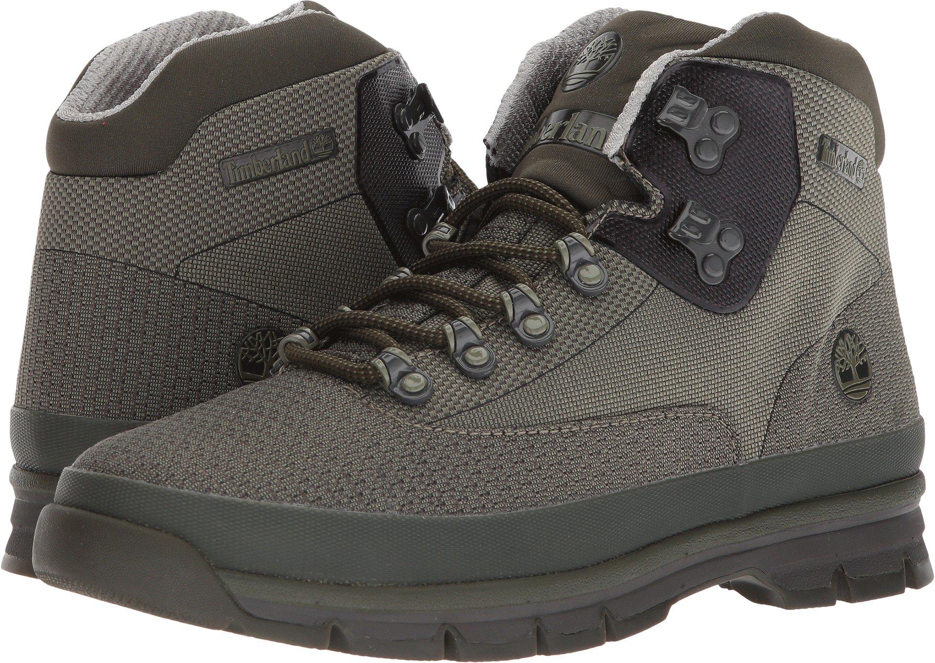 Timberland Euro Hiker Jacquard Boot - Men's Dark Green Jacquard 10.5