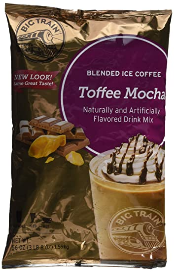 Big Train Blended Ice Coffee, Toffee Mocha, 3.5 Pound, Powdered Instant Coffee Drink
