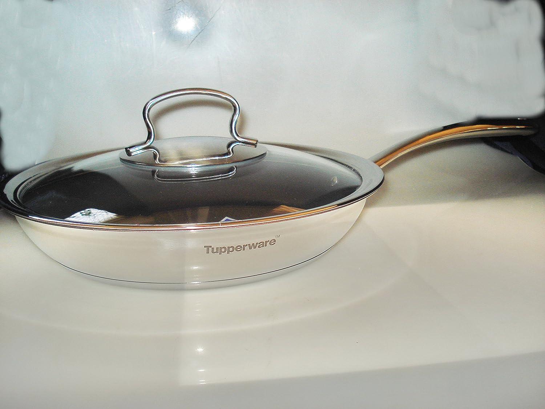 Tupperware Sartén con tapa 28 cm sartén Chef Serie Mirage Cookware ...