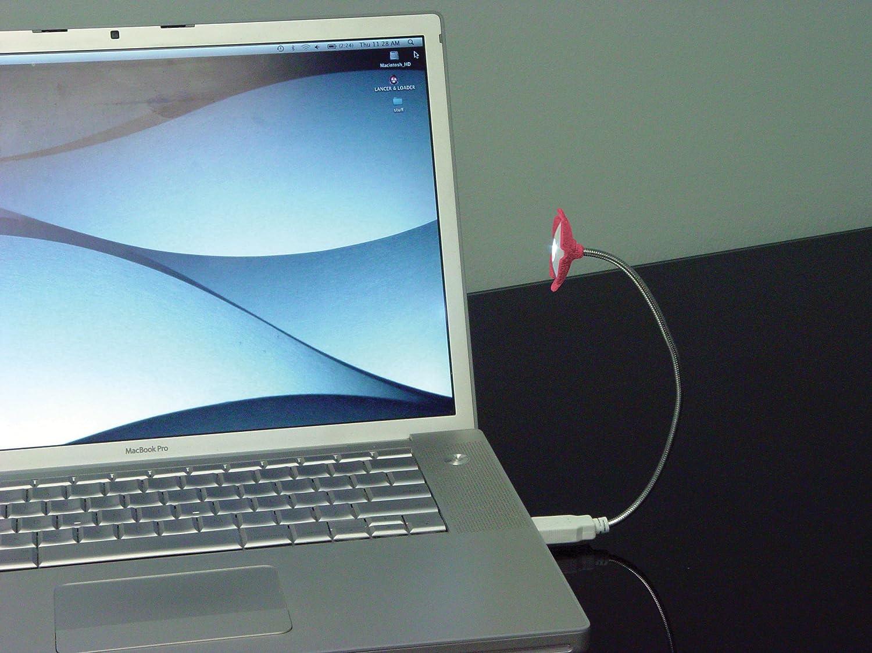 Rite Lite LPL502B Hi-Output LED Flower Computer//Book Light w//base