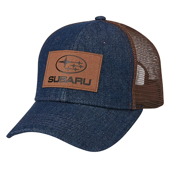Amazon.com  Genuine Subaru Denim Front Mesh Back Cap Hat Impreza WRX ... ed0202a277b