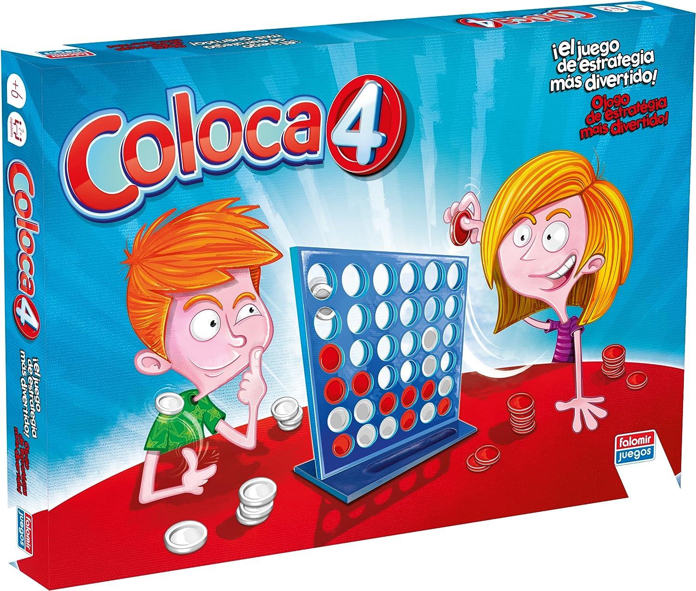 Falomir Coloca 4 Maxim, Juego de Mesa, Clásicos (646388): Amazon.es: Juguetes y juegos