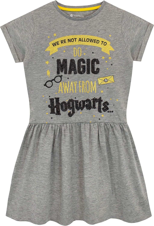 Harry Potter Vestido para niñas Hogwarts: Amazon.es: Ropa y accesorios
