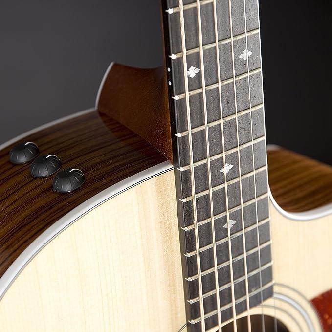 Taylor 214ce Deluxe NAT · Guitarra acústica: Amazon.es ...