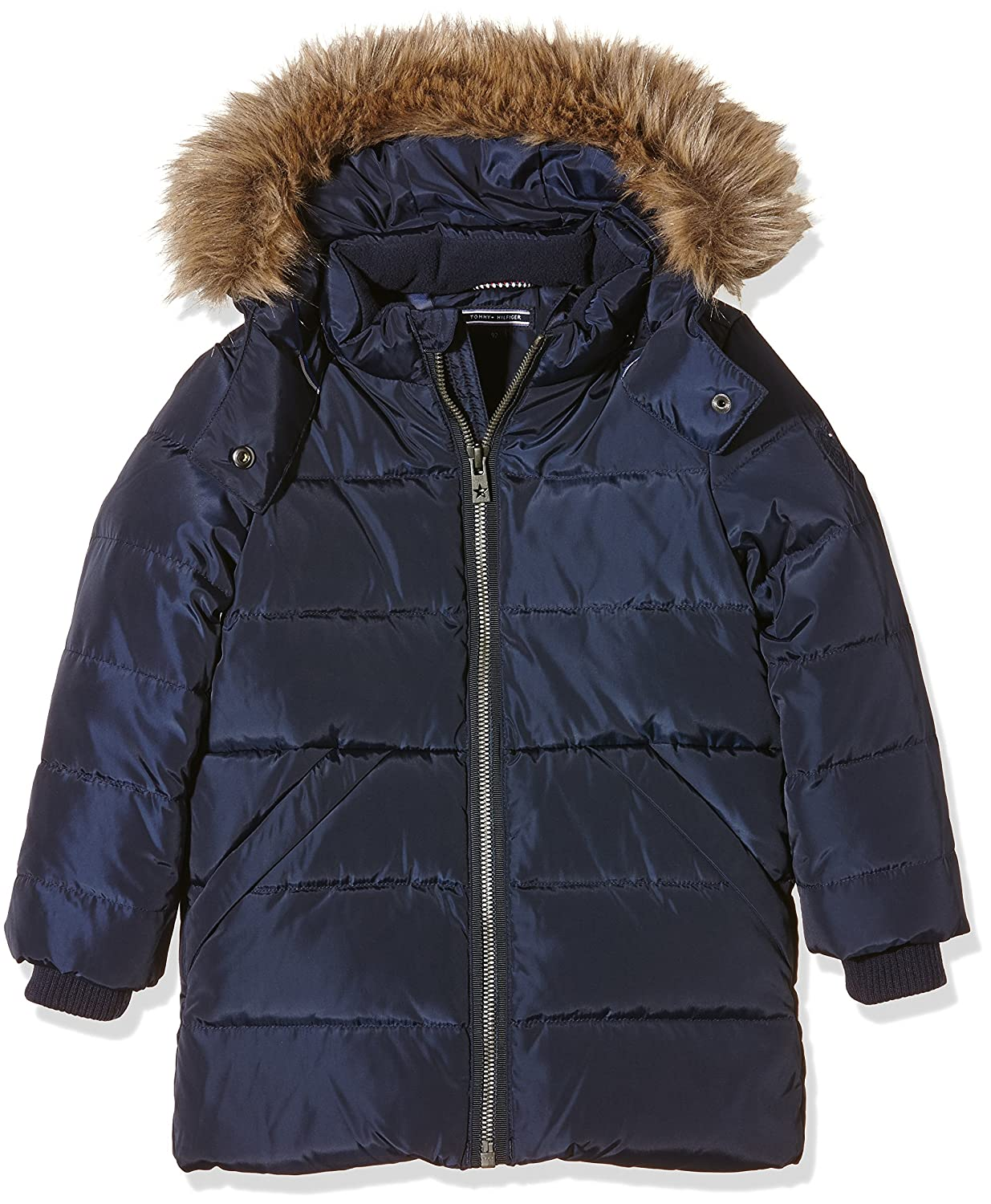 Tommy Hilfiger Mädchen Mantel Girls Rich Down Mini Coat