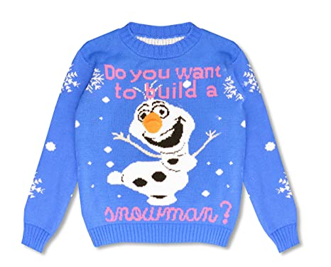 Blush Avenue® Boys Girls Kids Frozen OLAF Wana Build a Snowman ...