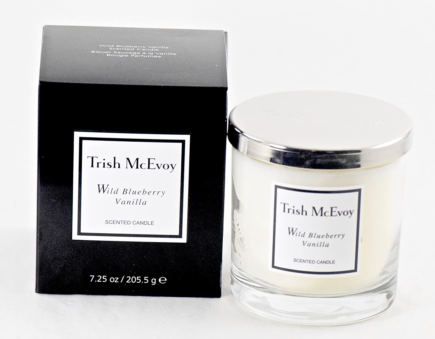 9790787057 Trish Mcevoy Candle 7.25 Oz Wild Blueberry Vanilla Candle - Boxed 91F2BU5UK4LL
