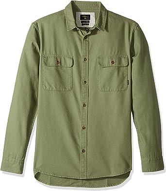 Quiksilver Hombre EQYWT03560 Camisa de Vestir: Amazon.es: Ropa y accesorios