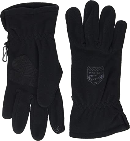 Ziener Identicalosso Touch Guantes, Hombre, Negro, 8.5
